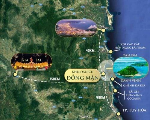 vị trí bat dong san phu yen