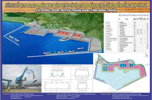 quy hoạch cảng cà ná - ninh thuận